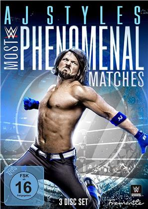 WWE: AJ Styles - Most Phenomenal Matches (3 DVDs)