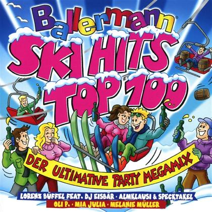 Ballermann Ski Hits Top 100 - Ultimativer Party Megamix (2 CDs)