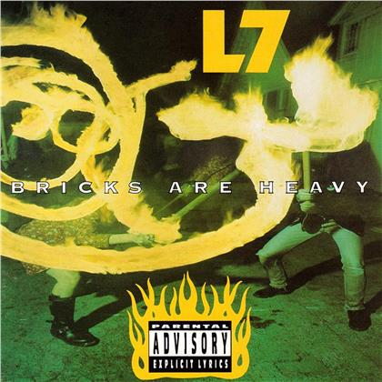 L7 - Bricks Are Heavy (2019 Reissue, Green Vinyl, LP)