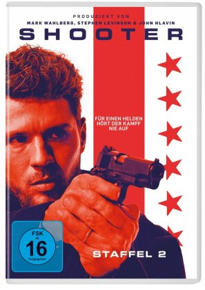 Shooter - Staffel 2 (2 DVDs)