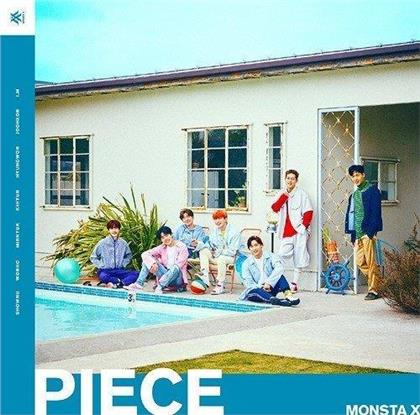 Monsta X (K-Pop) - Piece (Deluxe Edition, CD + DVD)