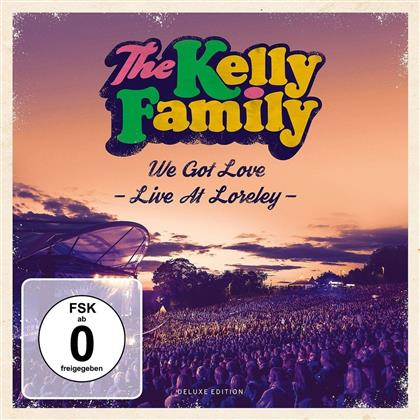 Kelly Family - We Got Love - Live At Loreley (Deluxe Edition, 2 CDs + 2 DVDs)