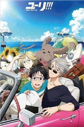 Yuri On Ice - Car Maxi Poster