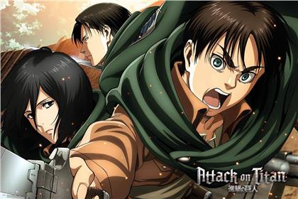 Attack On Titan - Season 2 Poster