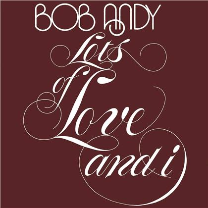 Bob Andy - Lots Of Love And I (Music On Vinyl, Limited Edition, Orange Vinyl, LP)