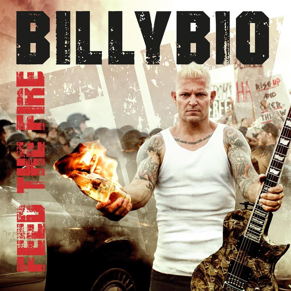 BillyBio (Billy Graziadei of Biohazard, Powerflo) - Feed The Fire (Gatefold, Orange Vinyl, LP)