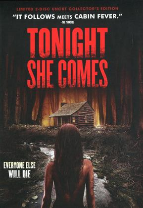 Tonight She Comes (2016) (Cover E, Collector's Edition, Limited Edition, Mediabook, Uncut, Blu-ray + DVD)