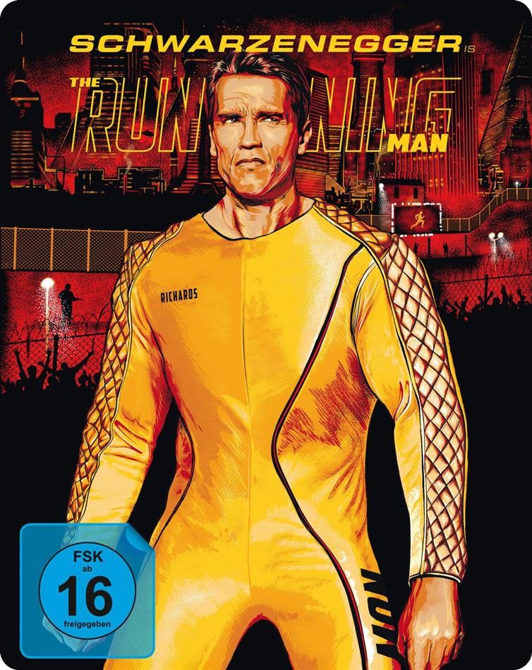 The Running Man (1987) (Limited Edition, Steelbook, Uncut, 2 Blu-rays)