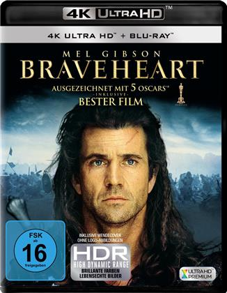 Braveheart (1995) (4K Ultra HD + Blu-ray)