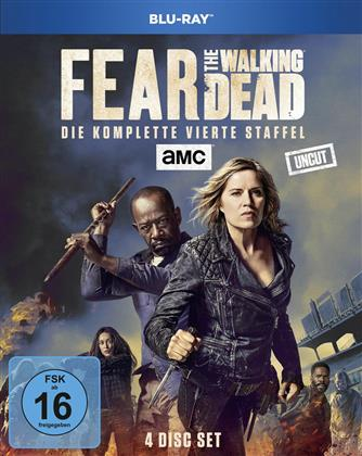 Fear the Walking Dead - Staffel 4 (Uncut, 4 Blu-rays)