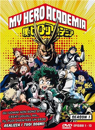 My Hero Academia - Stagione 1 (Limited Edition, 3 DVDs)