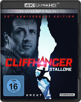 Cliffhanger (1993) (25th Anniversary Edition, Uncut, 4K Ultra HD + Blu-ray)