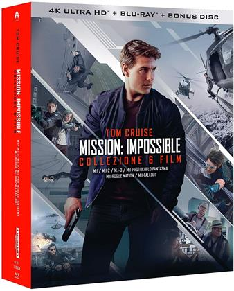 Mission Impossible 1-6 (6 4K Ultra HDs + 7 Blu-rays)