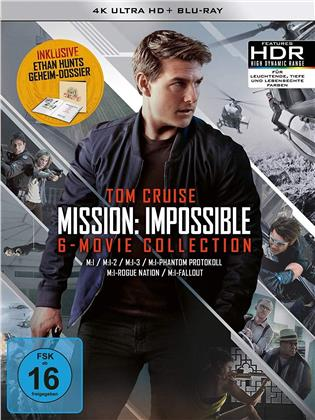Mission Impossible 1-6 (Limited Edition, 6 4K Ultra HDs + 7 Blu-rays)