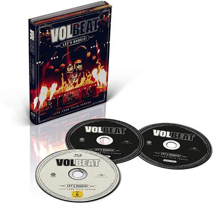 Volbeat - Let's Boogie! Live From Telia Parken (2 CDs + Blu-ray)
