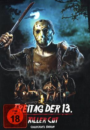 Freitag der 13. (2009) (Cover D, Killer Cut, Collector's Edition, Limited Edition, Mediabook, Uncut)