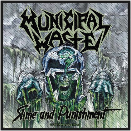 Municipal Waste Standard Patch - Waste Slime and Punishment (Loose)