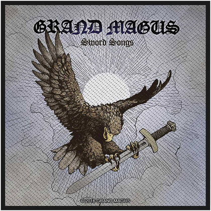 Grand Magus Standard Patch - Magus Sword Songs (Loose)
