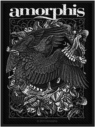 Amorphis Standard Patch - Circle Bird (Loose)