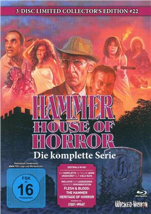 Hammer House of Horror - Die komplette Serie (Collector's Edition, Edizione Limitata, Mediabook, Uncut, 3 Blu-ray)