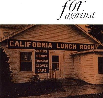 For Against - Mason's California Lunchroom (2018 Reissue, Limited Edition, Remastered, LP)