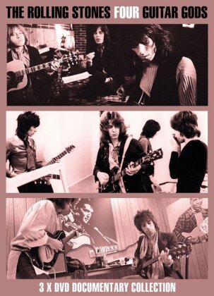 The Rolling Stones - Four Guitar Gods (Inofficial, 3 DVDs)