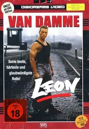 Leon (1990) (VHS-Edition, Limited Edition, Mediabook, Uncut, 2 Blu-rays + 2 DVDs)