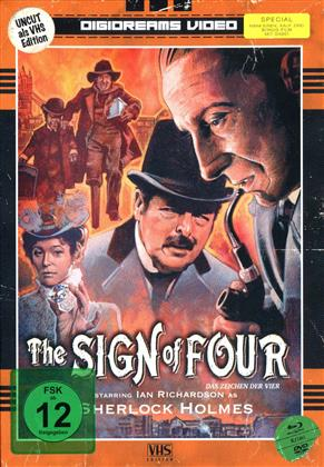 The Sign of Four (1983) (VHS-Edition, Limited Edition, Mediabook, Uncut, 2 Blu-rays + 2 DVDs)