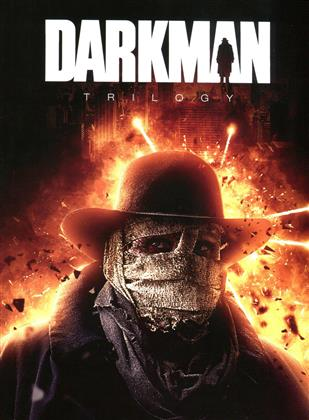 Darkman Trilogy (Cover D, Limited Edition, Mediabook, 3 Blu-rays + DVD)