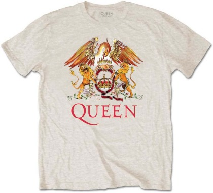 Queen Men's Tee - Classic Crest