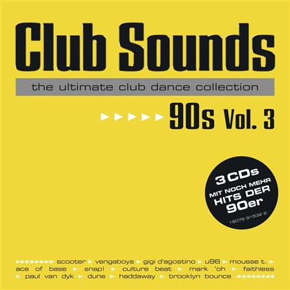 Club Sounds 90s, Vol. 3 (3 CDs)