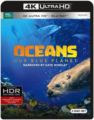 Oceans - Our Blue Planet (2018) (BBC Earth, 4K Ultra HD + Blu-ray)