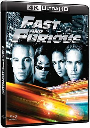Fast and furious (2001) (4K Ultra HD + Blu-ray)