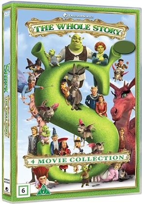 Shrek 1 - 4 (4 DVD)