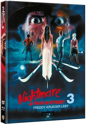 Nightmare on Elm Street 3 - Freddy Krueger lebt (1987) (Limited Edition, Mediabook, Blu-ray + DVD)