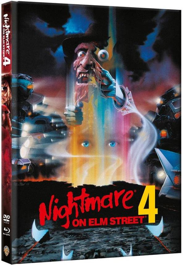 Nightmare on Elm Street 4 (1988) (Limited Edition, Mediabook, Blu-ray + DVD)
