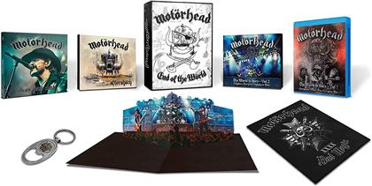 Motörhead - End of the Wörld (Boxset, Limited Edition, 4 CDs + 3 DVDs + Blu-ray)