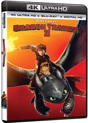 Dragon Trainer 2 (2014) (4K Ultra HD + Blu-ray)