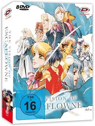 The Vision of Escaflowne - Die komplette Serie (Collector's Edition, 8 DVDs)
