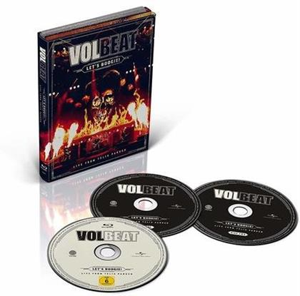 Volbeat - Let's Boogie (Live From Telia Parken) (2 CDs + Blu-ray)