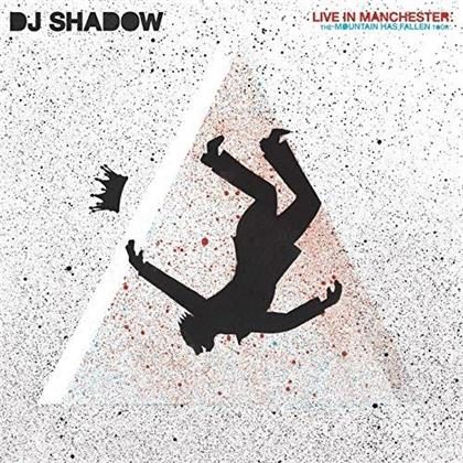 DJ Shadow - Live In Manchester: The Mountain Has Fallen Tour (Gatefold Replica, CD + DVD)