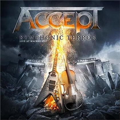 Accept - Symphonic Terror: Live At Wacken 2017 (2 CDs + Blu-ray + DVD)