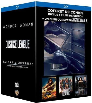 Wonder Woman / Justice League / Batman v Superman (Limited Edition, 3 Blu-rays)