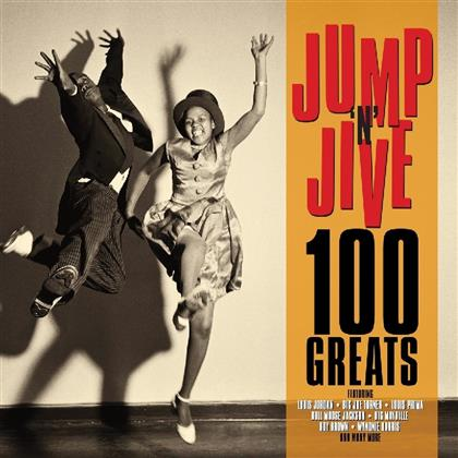 100 Greats Jumpin' Jive (Not Now Music, 4 CDs)