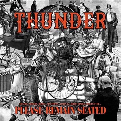 Thunder - Please Remain Seated (Limited Edition, Colored, 2 LPs)