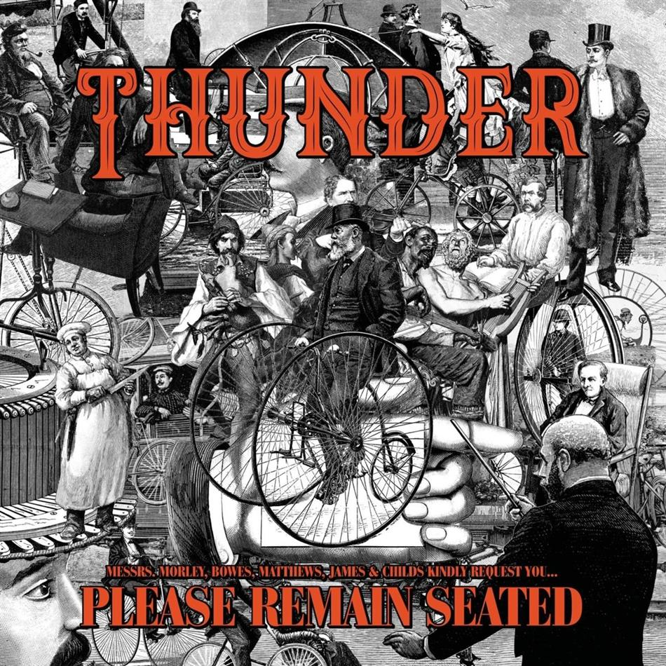 Thunder - Please Remain Seated (Gatefold, Limited Edition, Colored, 2 LPs)