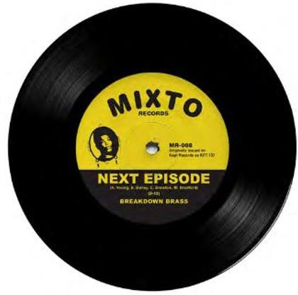 "Breakdown Brass - Next Episode / Monmouth (7"" Single)"