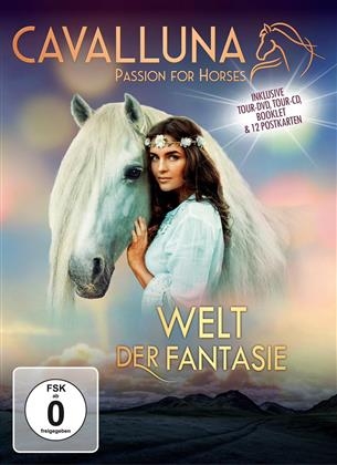 Cavalluna - Passion for Horses - Welt der Fantasie (DVD + CD)