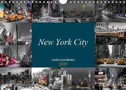 New York City - Color Glam Edition (Wandkalender 2019 DIN A4 quer)