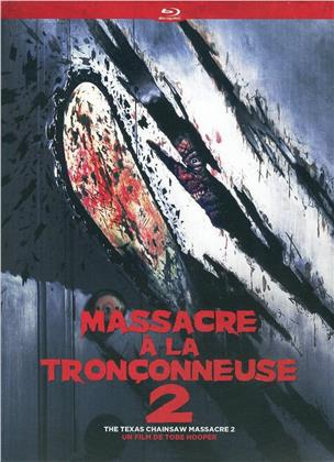Massacre a la Tronçonneuse 2 - The Texas Chainsaw Massacre 2 (1986) (Digipack, Blu-ray + 2 DVDs)